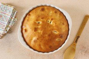 Заливной пирог с нектаринами - фото шаг 8
