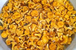 Лисички соленые холодным способом - фото шаг 3