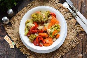 Овощное рагу с курицей и брокколи - фото шаг 8