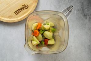 Смузи из сельдерея, яблока и апельсина - фото шаг 4