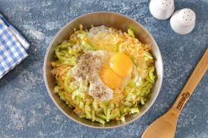 Запеканка из кабачков с рисом и фрикадельками - фото шаг 3